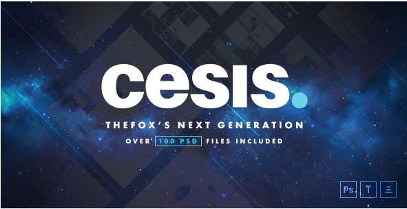 Cesis Ultimate Multi-Purpose PSD Template
