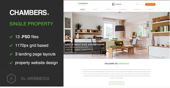 Chambers - Single Property PSD Template