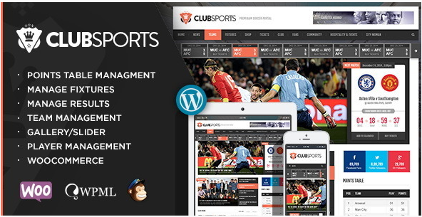 Best Sports Wordpress Themes 2016