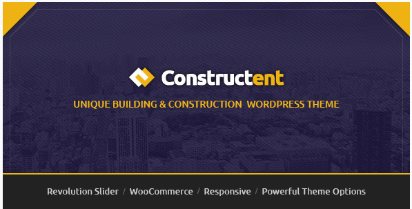 Constructent - Responsive Construction WP Theme
