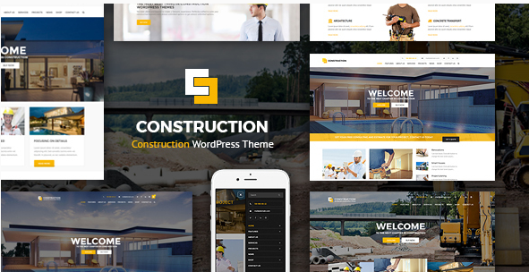 Construction - WordPress Theme