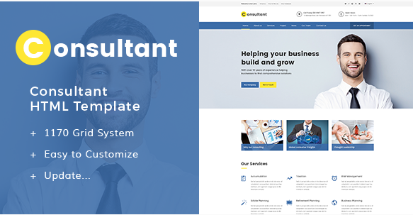 Consultant - Multipurpose Corporate Template