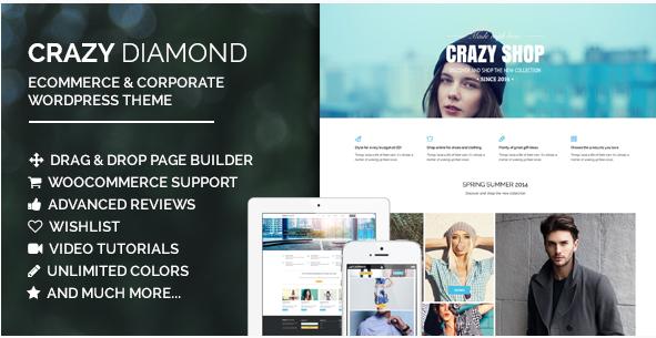 Crazy Diamond - Ecommerce & Corporate Theme