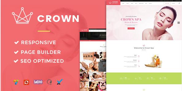 Crown - Spa & Beauty Salon Theme