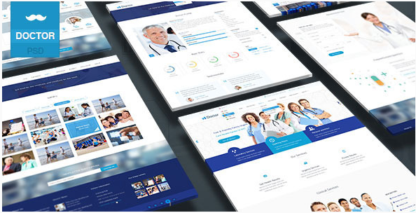 Doctor - Health Clinical PSD Template