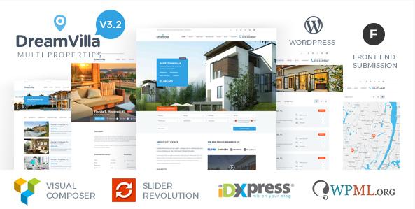 DreamVilla - Real Estate WordPress Theme