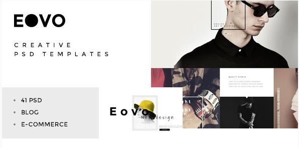 EOVO - Creative PSD Template