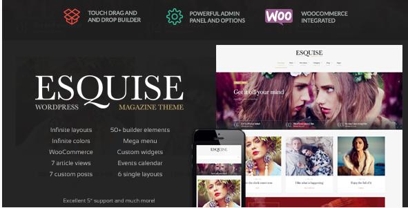 Esquise - Magazine WordPress Theme
