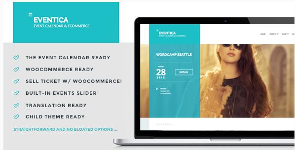 Eventica - Event Calendar & Ecommerce For WordPress