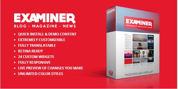 Examiner Magazine Theme