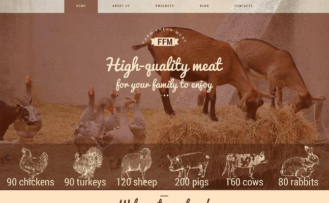 FARM FRESH MEAT