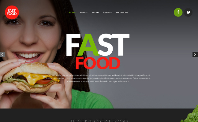 Best Food And Restaurant Website Templates