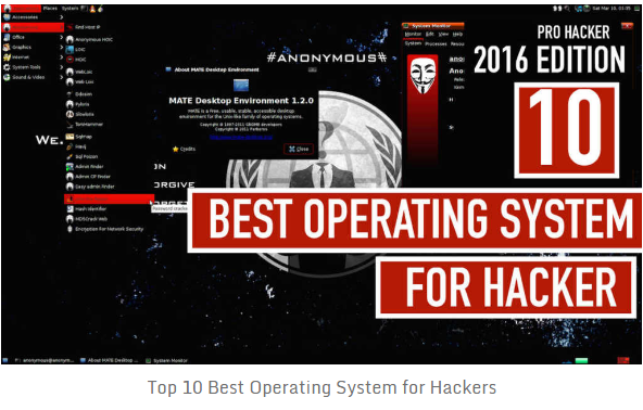 Best Hackers Operating Systems