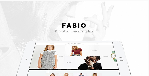 Fabio - Fashion E-commerce PSD