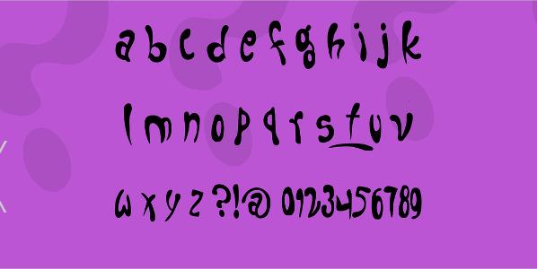 Fruitopia Bold Font