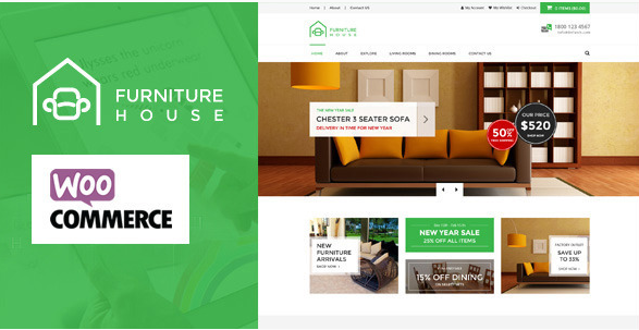 25+ Best Furniture And Interiors WordPress Themes 2