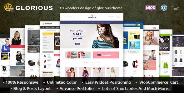 Glorious - WooCommerce Responsive Theme