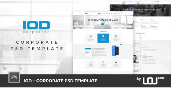 IOD - Corporate PSD Template