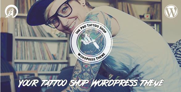 7+ Wordpress Themes For Tattoo