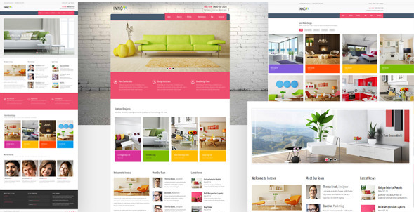 Innova - Interior & Funiture WordPress CMS Theme