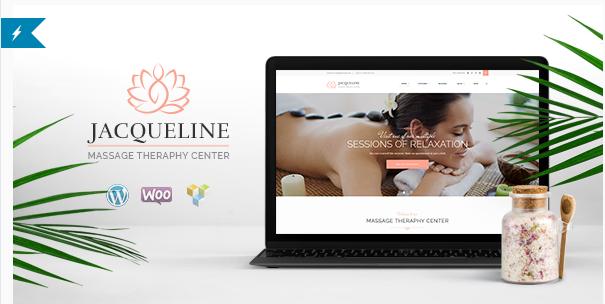 Jacqueline  Spa & Massage Salon Theme