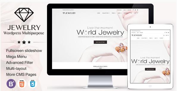 Jewelry - Responsive WordPress Theme