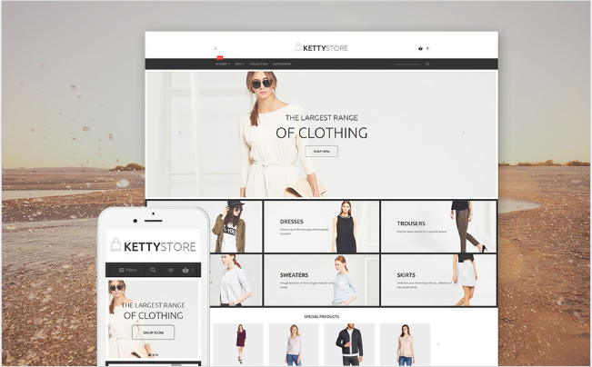 KETTY Best Premium Shopping Magento Themes