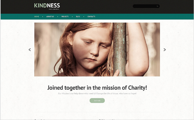 KINDNESS: Non Profit PHP Themes And Templates
