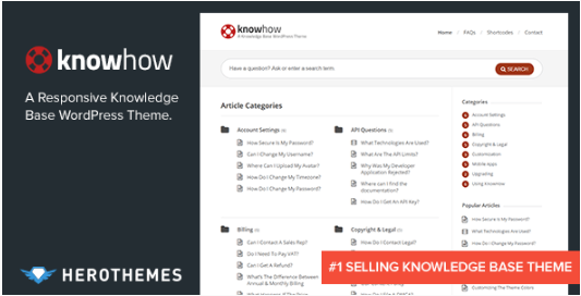 KNOWHOW: Question Answer WordPress Themes