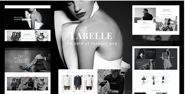 18+ Best Fashion PSD Templates 2016