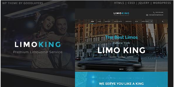 Limo King - Limousine Transport  Car Hire Theme