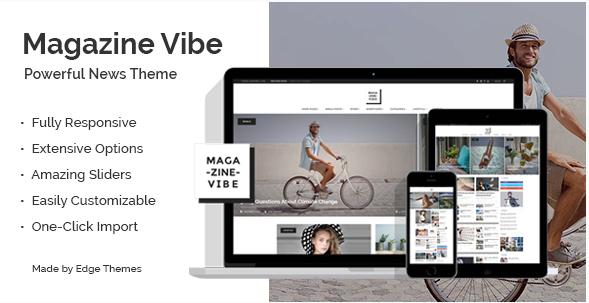 Magazine Vibe - A Powerful News & Magazine Theme