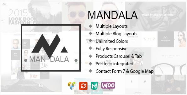 Mandala - Responsive Ecommerce WordPress Theme