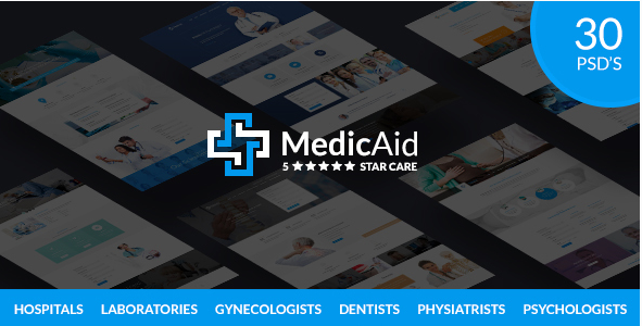 MedicAid - Medical PSD Template