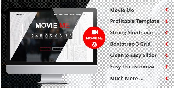 Movie Me - Best Videos WordPress Themes