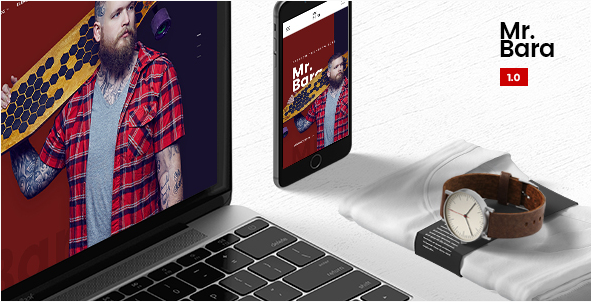 Mr.Bara  A Premium Mutil-Ecommerce PSD Template