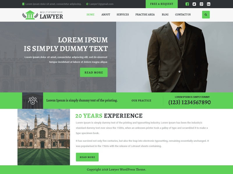 Multipurpose Lawyer