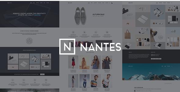 Nantes - Creative Ecommerce & Corporate Theme