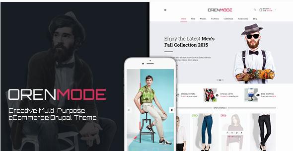Orenmode - Creative Multi-Purpose Commerce Theme