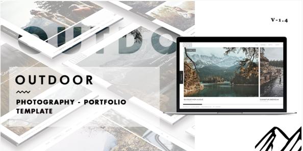 Outdoor - Photography  Portfolio Template