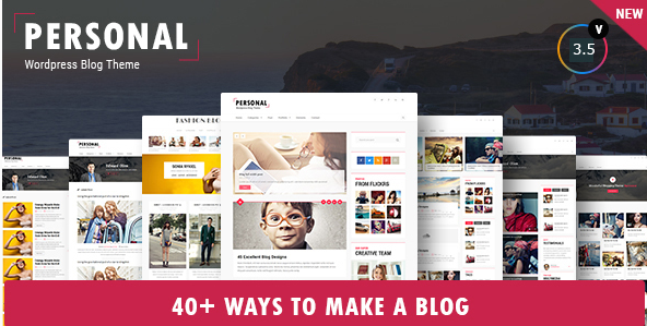 Personal - Best Videos WordPress Themes