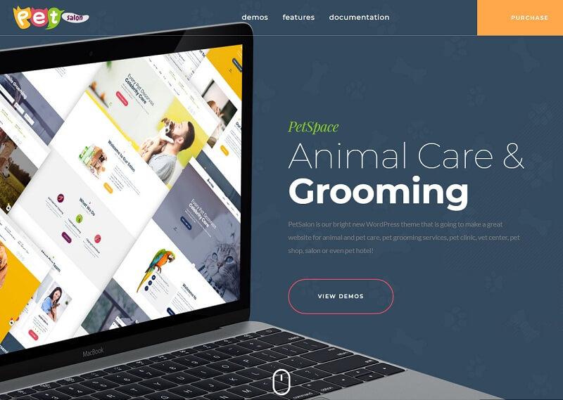 PetSpace Animals WordPress Themes