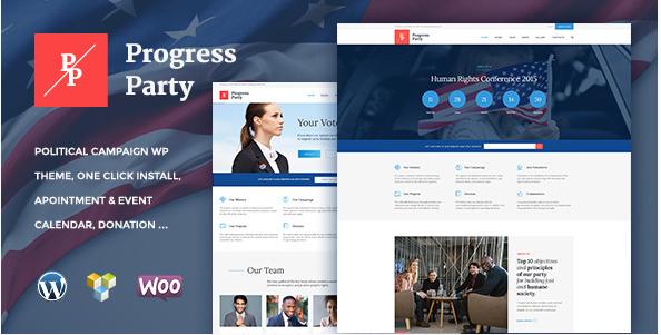 ProParty  Political WordPress theme