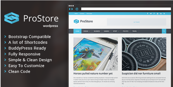 ProStore - Modern Magazine Theme