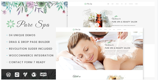 Pure - Spa & Beauty Responsive WordPress Theme