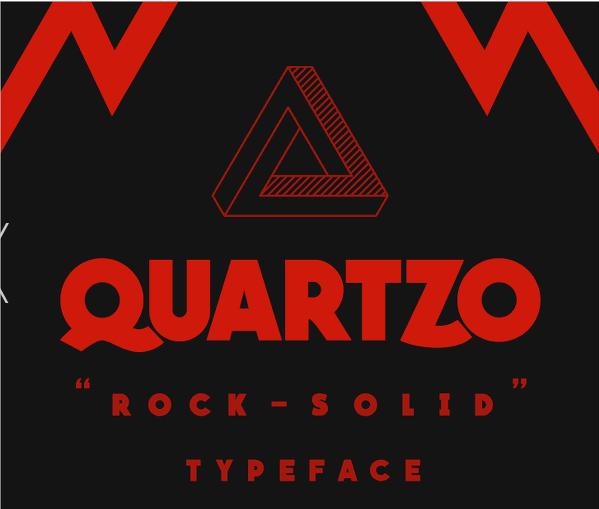 Quartzo Bold Font