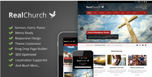 27+ Best Wordpress Church Themes 2016