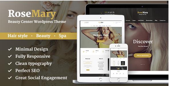RoseMary - Hair, Beauty & Spa Salon Theme