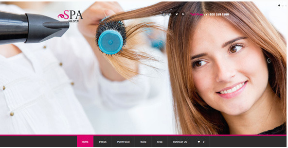 SPA SALON - WordPress Theme for Salon, SPA, and Beauty Care Centers
