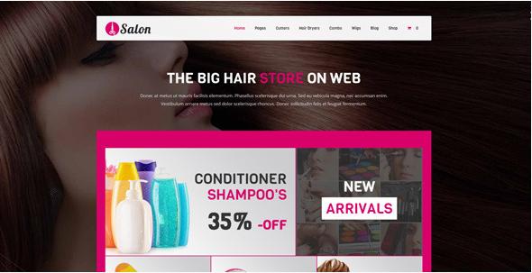 Salon - WooCommerce theme for hair salons